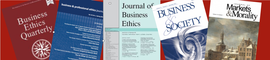 students guide to writing critical essays in business ethics and  business ethics journal review